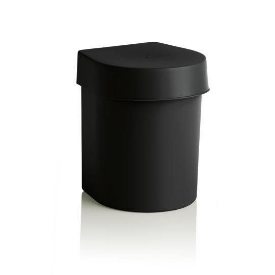 lixeira de pia hide 3,5l preta ou