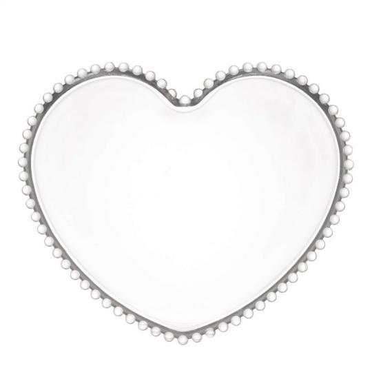 prato coração pearl 30x25 cm wolff
