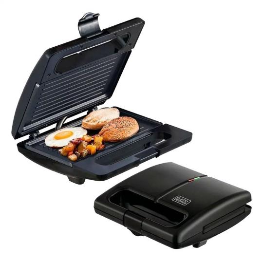 grill elétrico 700w 127v black&decker
