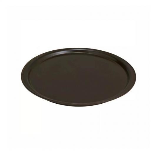 forma para pizza marrom 35cm ceraflame