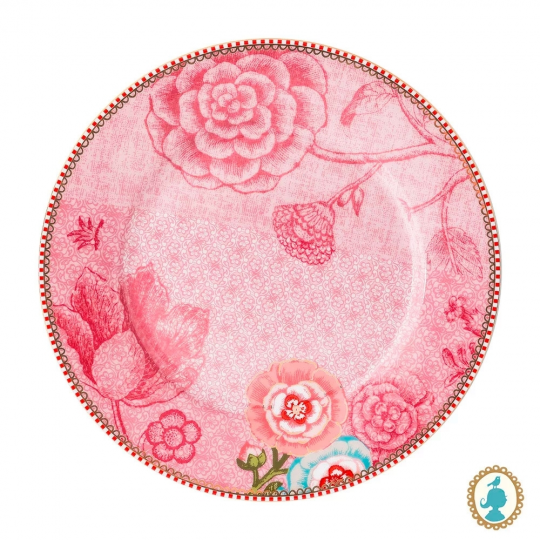 prato sobremesa spring to life rosa unitario pip studio