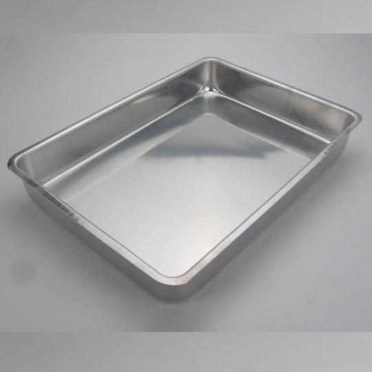 assadeira alta n1 28,5x18,5x4cm aluminio doupan