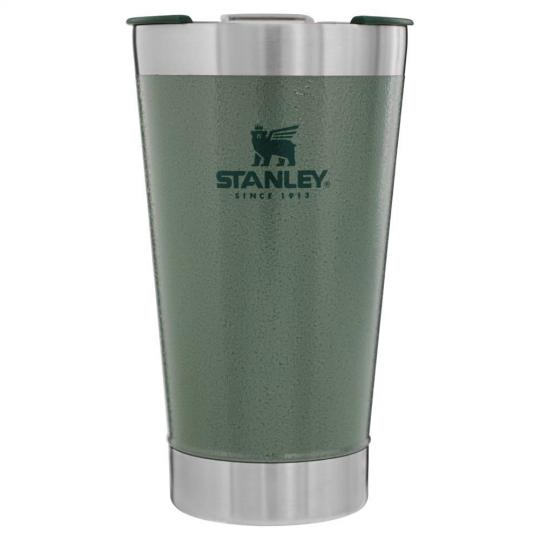 copo stanley térmico com tampa verde 473ml
