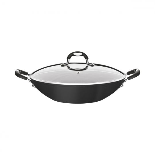 wok monaco indução preto 32cm 4,5l tramontina