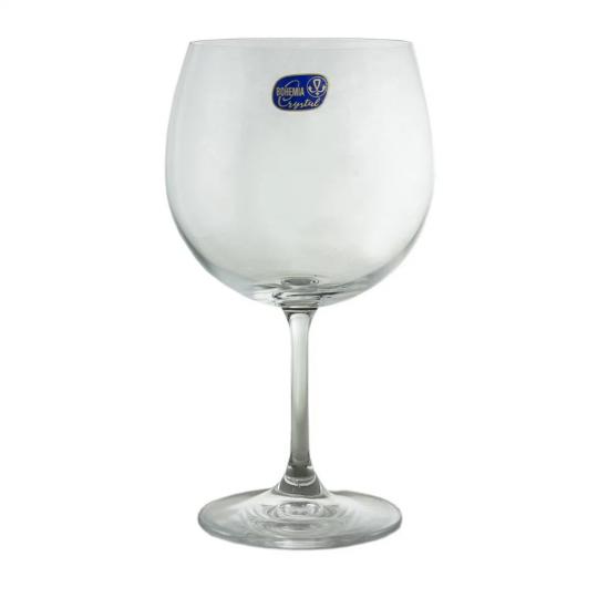 jogo 06 taças de gin cristal 600ml roberta bohemia