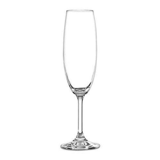 jogo 6 taças champanhe gastro/colibri 220ml bohemia
