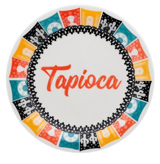 jogo de 6 pratos tapioca s/cx oxford /,