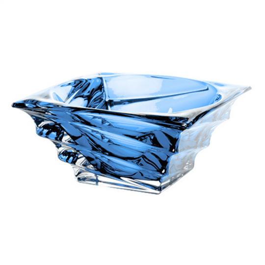 centro de mesa casablanca azul 28x10 cm bohemia