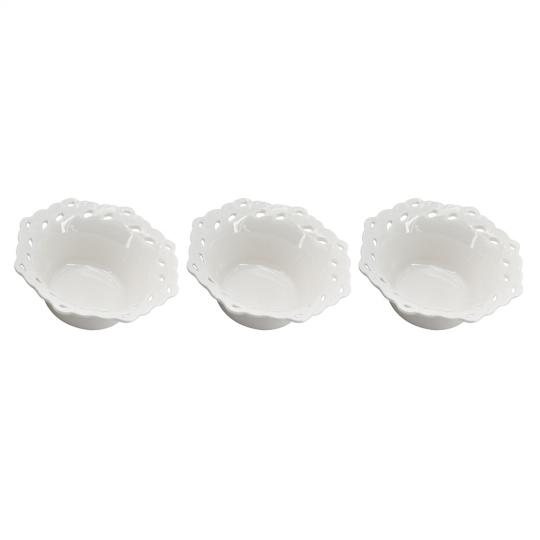 jogo de 3 bowls porcelana dynasty
