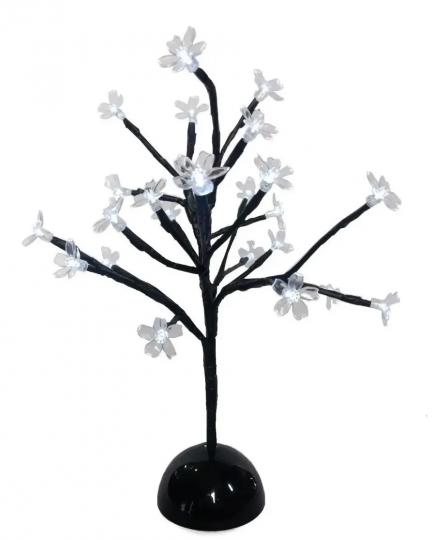 arvore luminária de led 35cm natal