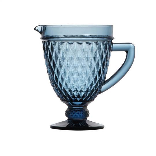 jarra bico abacaxi azul 1 litro