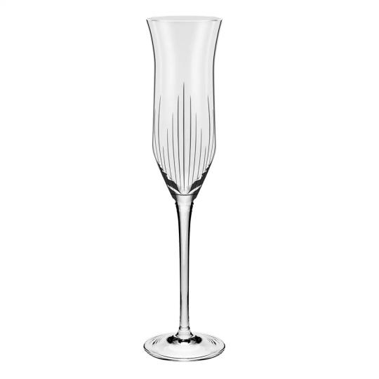 jogo 6 taças champanhe majestic oxford