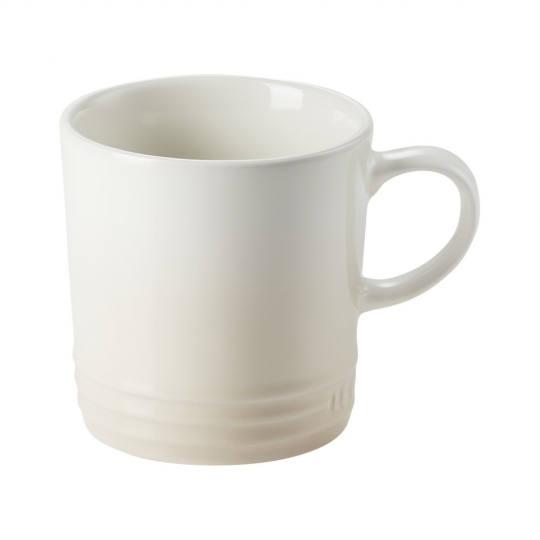caneca cappuccino de cerâmica 200 ml branco le creuset