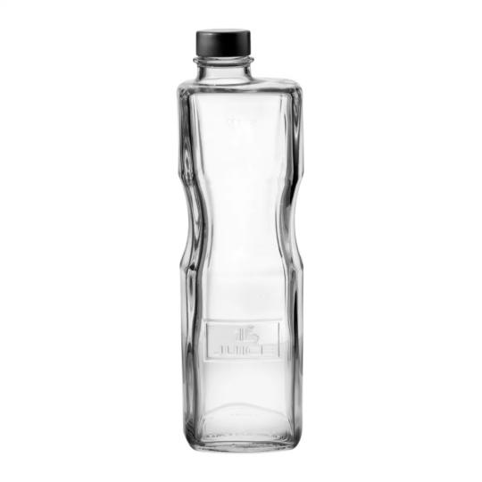 garrafa optima com tampa 1l luigi bormioli