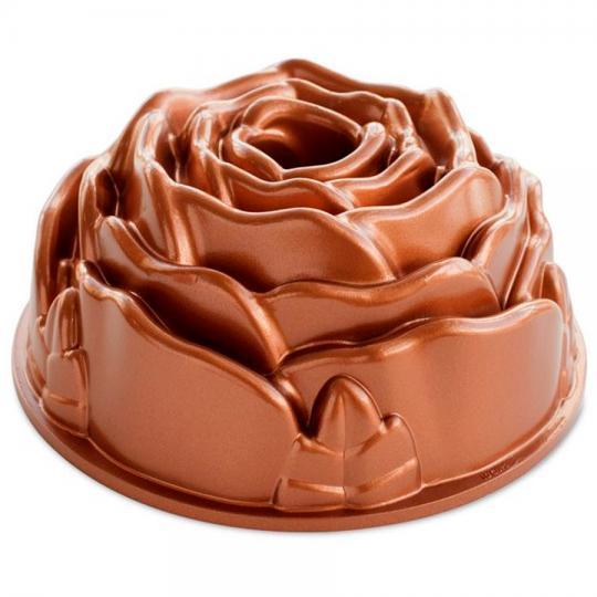 forma para bolo rose pan nordic ware