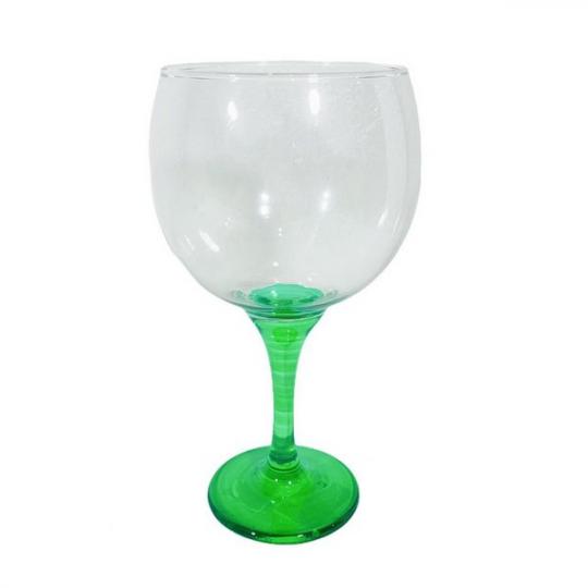 taça gin bora bora verde em vidro unidade hmartin