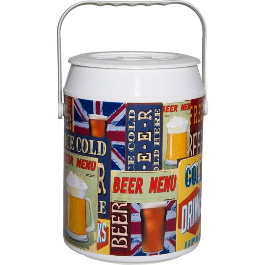 COOLER 42 LATAS BEER VINTAGE ANABELL