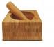 pilão de bambu tyft