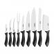jogo de facas 9 peças affilata tramontina