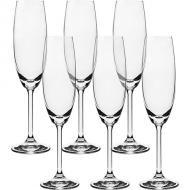 jogo de 6 taças champagner  bohemia