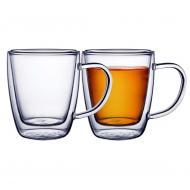 conjunto com 2 xícaras chá e cappucino