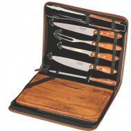 kit para churrasco com 8 peças tramontina
