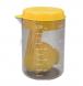 copo medidor com colher medidora brinox