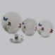 aparelho de jantar 20 peças porcelana  butterflies lyor /*